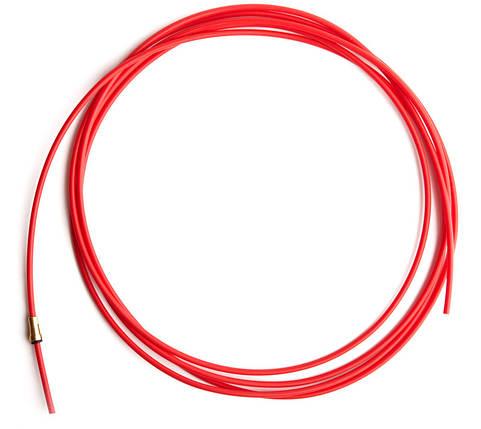 Направляючий тефлоновий канал червоний довжина 3,2 м (1,0-1,2), фото 2