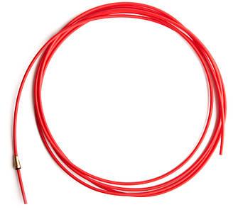 Направляющий тефлоновый канал красный длина 3,2 м. (1,0-1,2)