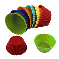 Набор из 12 силиконовых форм для выпекания  MR-1177 Maestro