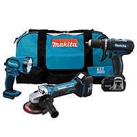 Набор инструментов 3 ед. Makita DK1882