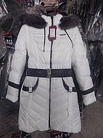 Зимнее пальто для девочек Дженни