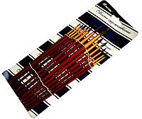 """Кисточки художественные """"Josef Otten"""" (12 шт) белка, кисти для рисования, фото 1"""