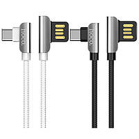 Дата кабель Hoco U42 Exquisite Steel Type-C cable (1.2m)