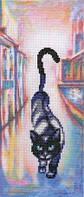 Набор для вышивки крестиком Коты в городе 11.5 х 275 см RTO