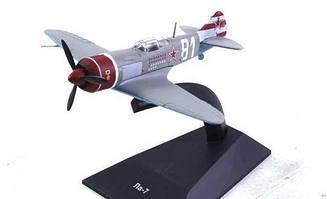 Модель Легендарні Літаки (ДеАгостини) №7 Ла-7 (1:104)