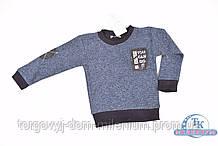 Батник для мальчика трикотажный (цв.синий)  REMI 277 Рост:98,104