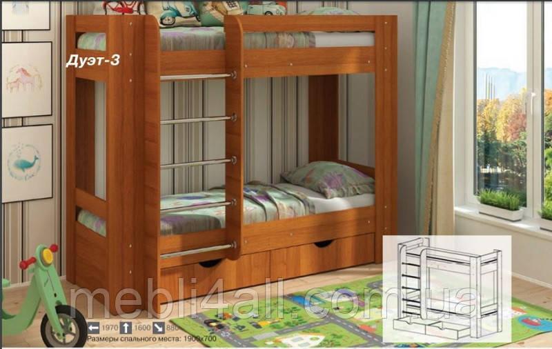 Дуэт-3 кровать
