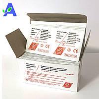 Антисептик спиртовые салфетки JS 30*65 мм 100 штук в упаковке, фото 1