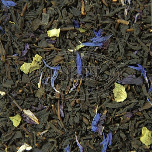 ЭРЛ ГРЕЙ ЧАЙ 500г голубой цветок черный с бергамотом