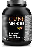 Протеин Power Pro CUBE Whey Protein, 1 кг Кофе с перцем (банка)