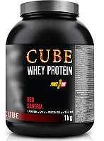 Протеин Power Pro CUBE Whey Protein, 1 кг Сангрия (банка)