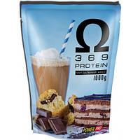 Протеин Power Pro Omega 3 6 9 Protein, 1 кг - миндальный кекс
