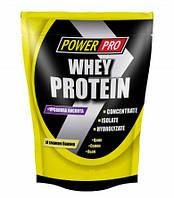 Протеин Power Pro Whey Protein, 1 кг Банан