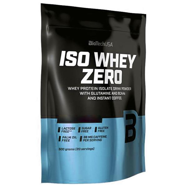 Протеин BioTech Iso Whey Zero, 500 грамм Шоколад-карамель