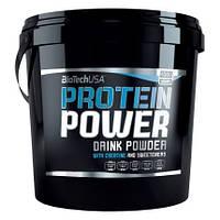 Протеин BioTech Protein Power, 4 кг Ваниль