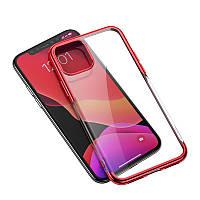 Чехол для iPhone 11 Baseus Shining case красный