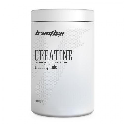 Креатин IronFlex Creatine Monohydrate, 500 грамм Лимон