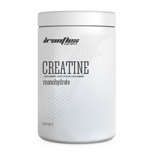 Креатин IronFlex Creatine Monohydrate, 500 грамм Клубника ананас