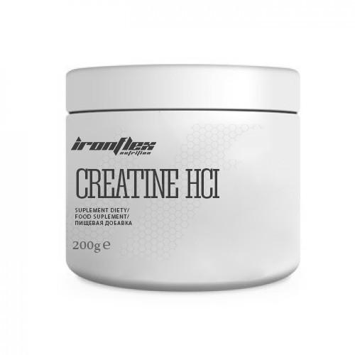 Креатин IronFlex Creatine HCL, 200 грамм Натуральный