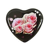 "Набір із 3-х банок ""Серце"" Троянда"