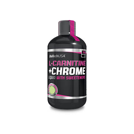 Жиросжигатель BioTech L-Carnitine + Chrome, 500 мл Грейпфрут