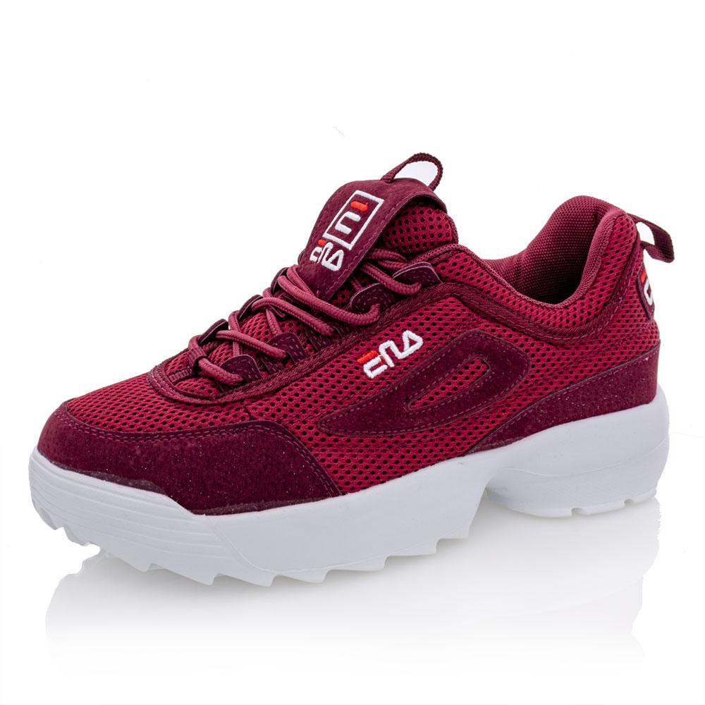 Кросівки для дівчат Fila 38 бордові 980432