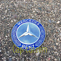 3D наклейка для дисков Mercedes. 65мм ( Мерседес )