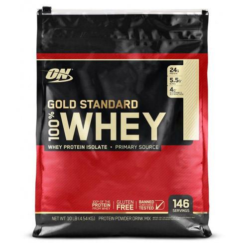 Протеин Optimum Gold Standard 100% Whey, 4.5 кг Двойной шоколад
