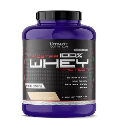Протеин Ultimate Prostar 100% Whey Protein, 2.27 кг Клубника