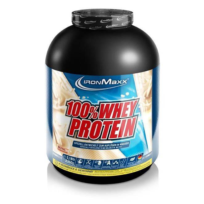 Протеин Ironmaxx 100% Whey Protein, 2.35 кг Фундук