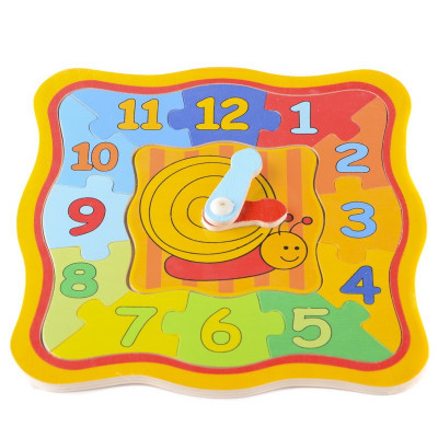 IE154 Деревянные пазлы часы