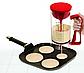 Універсальний міксер з дозатором Pancake MACHINE   Міксер дозатор механічний, фото 2