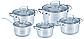 Набор посуды Grandhoff 10 предметов GR-203   Набор кастрюль 10 штук, фото 3