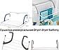 Сушилка Dryer dryer battery | Портативная сушка для белья на батарею, фото 3