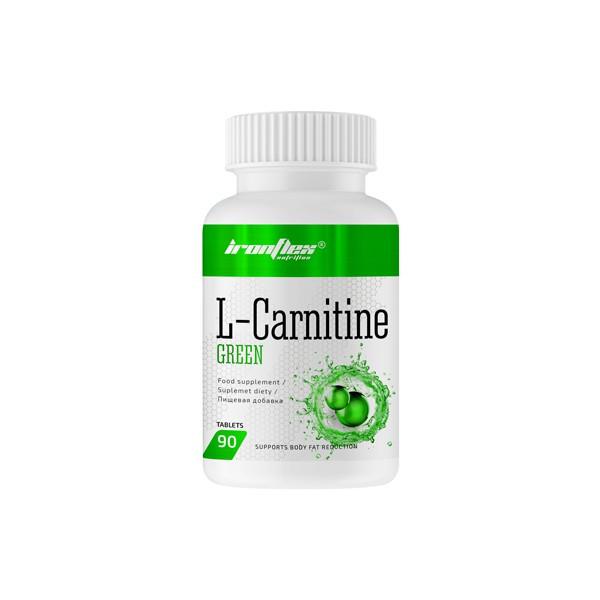 Жиросжигатель IronFlex L-Carnitine Green, 90 таблеток
