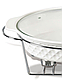 Мармит настольный керамический MAESTRO MR-11359-74 | блюдо с подогревом на подставке Маэстро, Маестро, фото 2