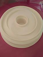 Форма силиконовая  Эллипс винт кекс