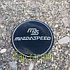 3D наклейка для дисков Mazda speed. 65мм ( Мазда )