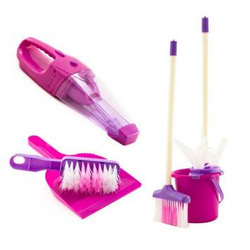 IE329 Пылесос игрушка швабра для девочки