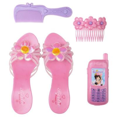 IE49B Телефон туфли заколки для девочки