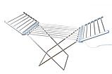 Електрична сушарка для білизни Grant GT-606   Електросушарка плитка розкладне, фото 2