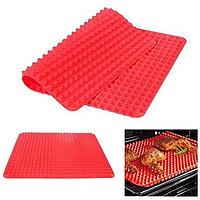 Силиконовый коврик Pyramid Pan   Коврик для жарки в духовке   Пирамидка для выпечки