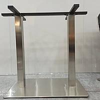 Двойная база, опора стола, подстолье Е30 из нержавеющей стали