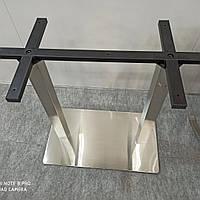 Двойная база стола, подстолье Е30 из нержавеющей стали