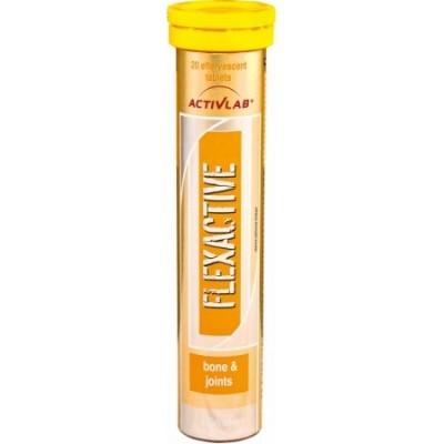 Для суставов и связок Activlab FlexActive, 20 таблеток - лимонад