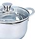 Кастрюля с крышкой из нержавеющей стали Maestro MR-3510-16 (1.6 л)   набор посуды Маэстро   кастрюли Маестро, фото 5
