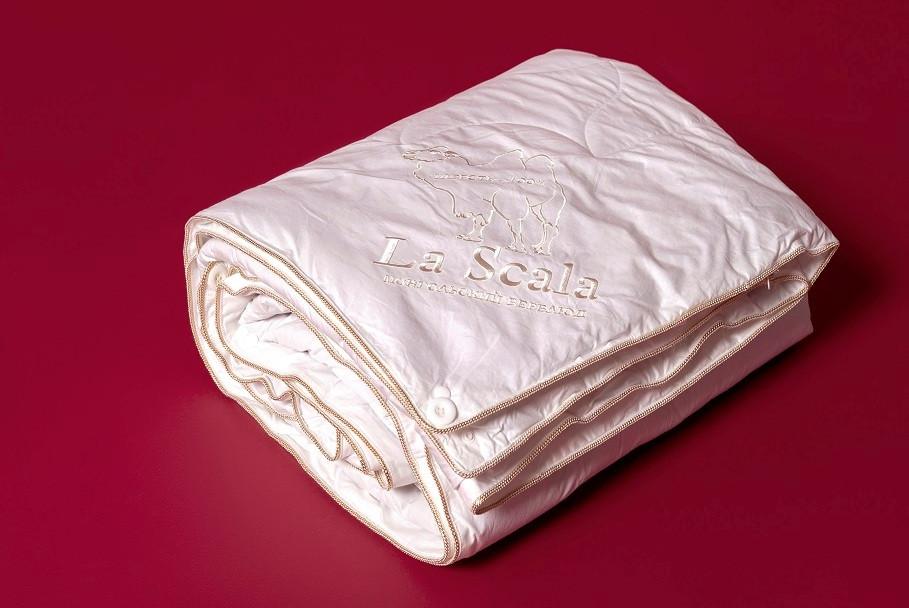 Одеяло верблюжья шерсть 200х220 LA SCALA ODV