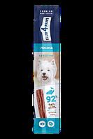 Мясная палочка для собак с чувствительным  пищеварением. Лосось. 12 г  Премиум. CLUB 4 PAWS Клуб 4 Лапы