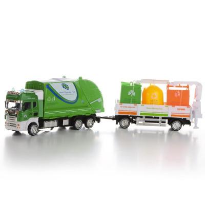 IM306 Модель мусоровоза прицеп