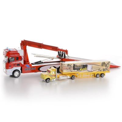 IM313 Модель грузовика эвакуатор трейлер